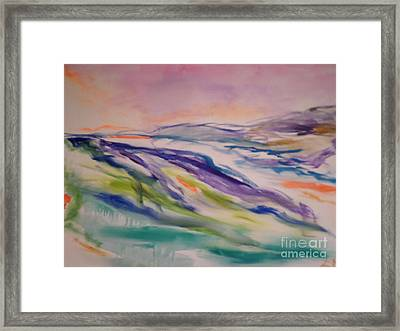 heathcliff II Framed Print by Sharon Worley