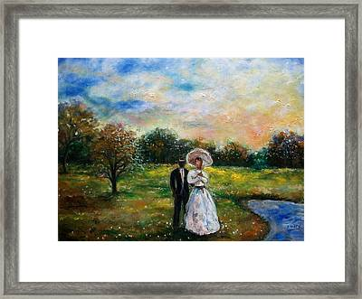 Heaven And Earth Framed Print by Emery Franklin