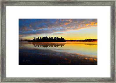 Heaven And Earth Framed Print by Gregory Israelson