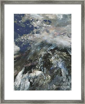 Heaven And Earth Meets Framed Print