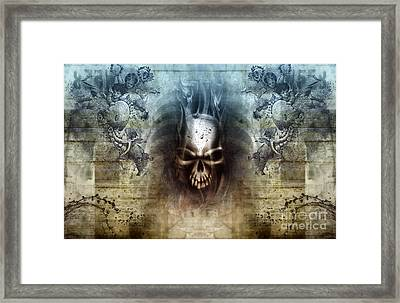 Heaven And Hell Framed Print by Diuno Ashlee
