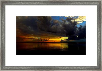 Heaven And Hell Framed Print by Stephen Melcher