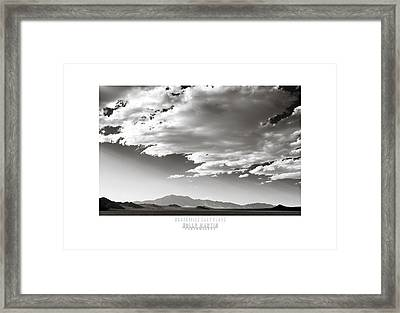 Heaven And Speed IIi Framed Print by Holly Martin