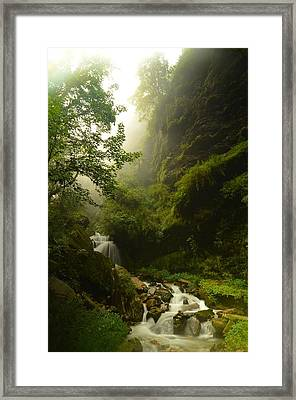 Heaven Calling Framed Print by Aaron Bedell