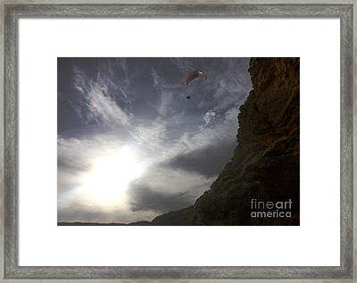 Heaven Can Wait Framed Print by Amanda Holmes Tzafrir