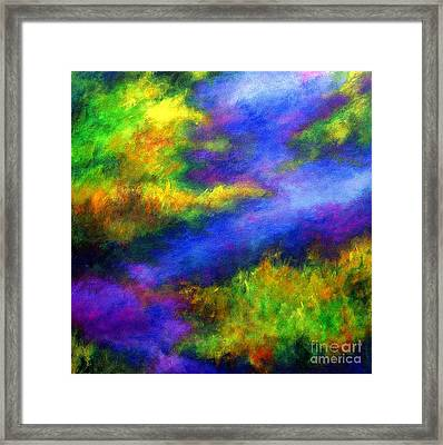 Framed Print featuring the painting Heaven II by Alison Caltrider