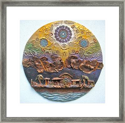 Heaven Is Pregnant Framed Print by Gary Wilson