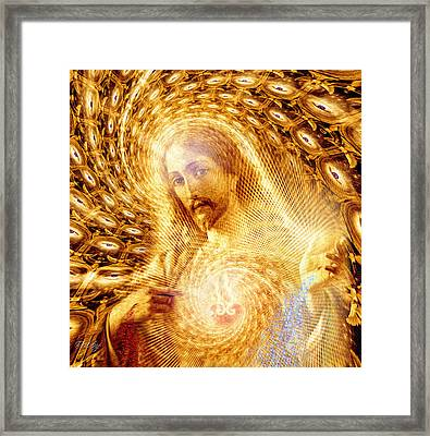 Heaven Is Within Framed Print by Robby Donaghey