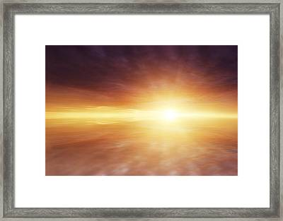 Heaven Framed Print by Les Cunliffe