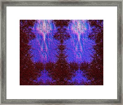 Heaven Of The Gods Framed Print