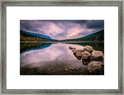 Heaven On Earth Framed Print by Brian Xavier