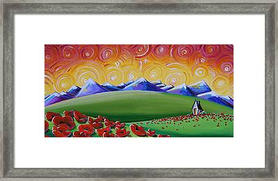 Heaven On Earth Framed Print by Cindy Thornton