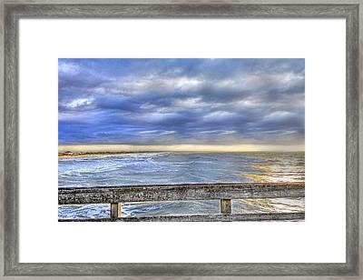 Heaven Sent Framed Print by Betsy Knapp