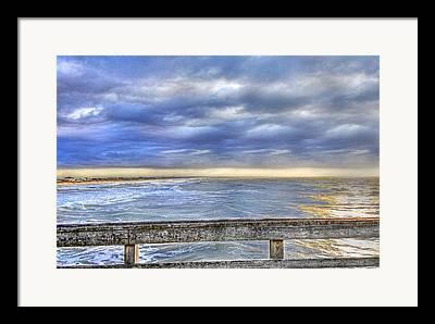 Rogers Beach Framed Prints