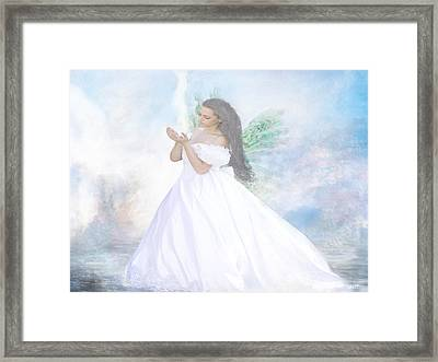 Heavenly Angel Framed Print