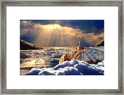 Heavenly Ascension Framed Print