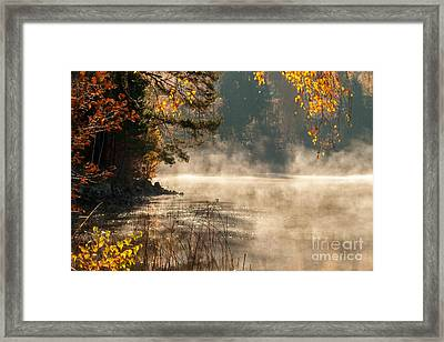 Framed Print featuring the photograph Heavenly Atmosphere by Rose-Maries Pictures