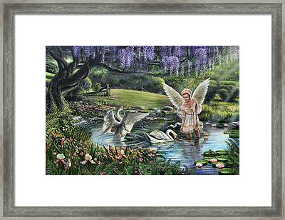 Heavenly Blessings Framed Print