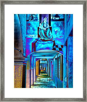Heavenly Blues Framed Print by William Beuther