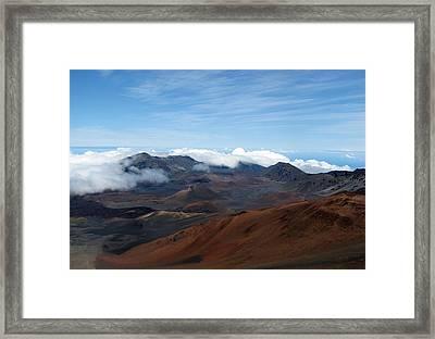 Heavenly In Hawaii Framed Print by Bob Slitzan
