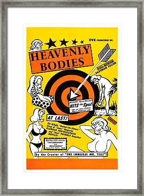 Heavenly Bodies, Us Poster, 1963 Framed Print