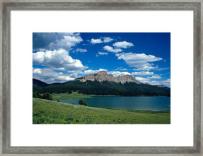 Heavenly Day Framed Print by Kathy Yates