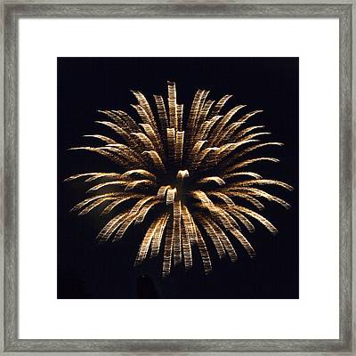 Heavenly Explosion Framed Print