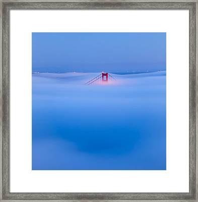 Heavenly Gate Framed Print