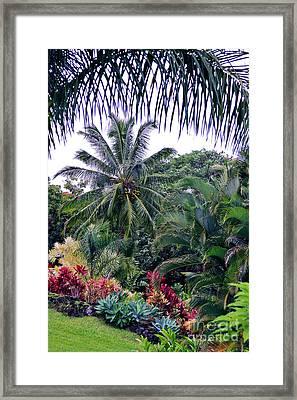 Heavenly Hana Framed Print by Karon Melillo DeVega