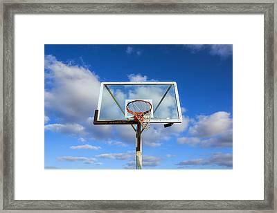 Heavenly Hoop Framed Print by Joseph S Giacalone