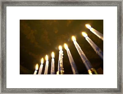Heavenly Lights Framed Print