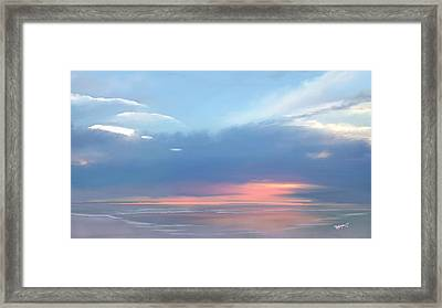 Heavenly Morning Framed Print