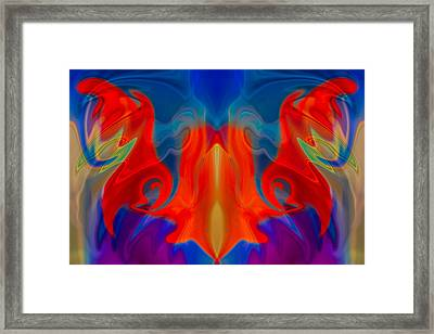 Heavenly Framed Print by Omaste Witkowski
