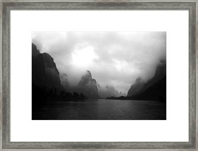 Heavenly Place Framed Print by Yue Wang