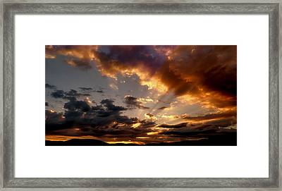 Heavenly Rapture Framed Print