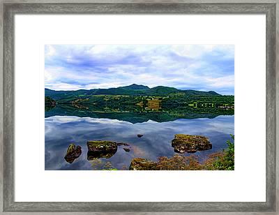 Heavenly Rocks  Framed Print