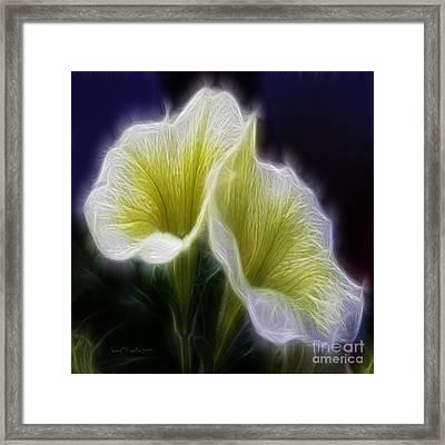 Heavenly Scent Framed Print by Jean OKeeffe Macro Abundance Art