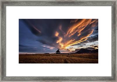 Heavenly Spectacle Framed Print
