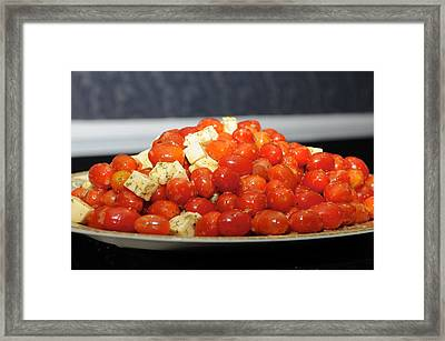 Heavenly Tomatoes Framed Print