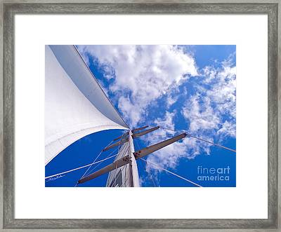 Heavenly Uncharted Framed Print by Gem S Visionary