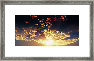 Heavens Breath 25 Framed Print by The Art of Marsha Charlebois