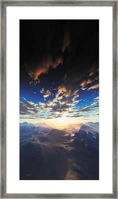 Heaven's Breath 31 Framed Print by The Art of Marsha Charlebois