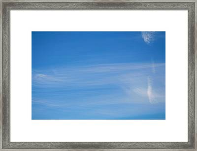 Heavens Brush Framed Print