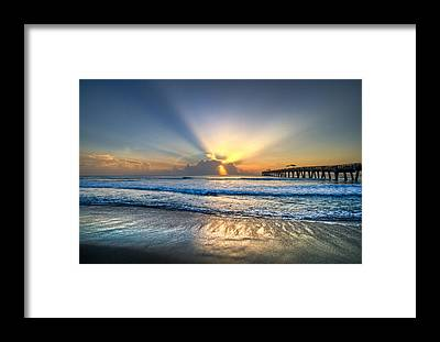 Lake Worth Framed Prints
