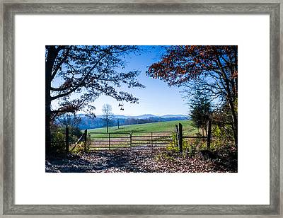 Heavens Gate 1st In Series Framed Print by Paul Herrmann