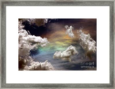 Framed Print featuring the photograph Heaven's Gate by Mitch Shindelbower