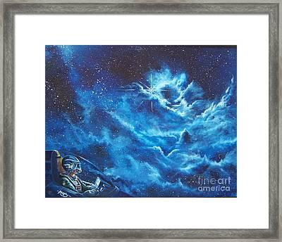 Heavens Gate Framed Print by Murphy Elliott