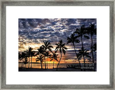 Heavens Gate Paradise  Framed Print by Rene Triay Photography