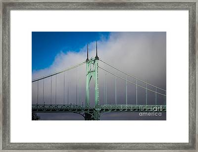 Heaven's Gate Framed Print by Patricia Babbitt