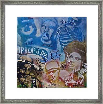 Heavens Ghetto 2 Framed Print by Tony B Conscious